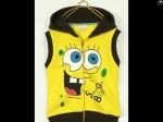jaket anak karakter spongebob vest