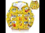 jaket anak karakter spongebob