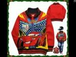 jaket anak karakter the cars mcqueen red tebal